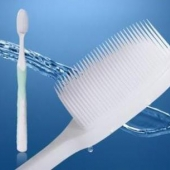 Инновационная зубная щетка с ультрамягкими щетинками